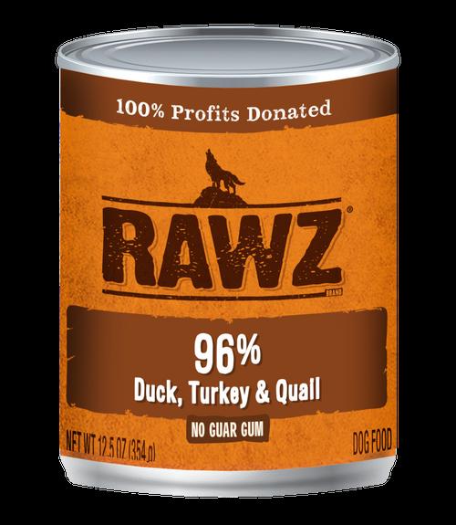 Rawz 96% Duck, Turkey Quail