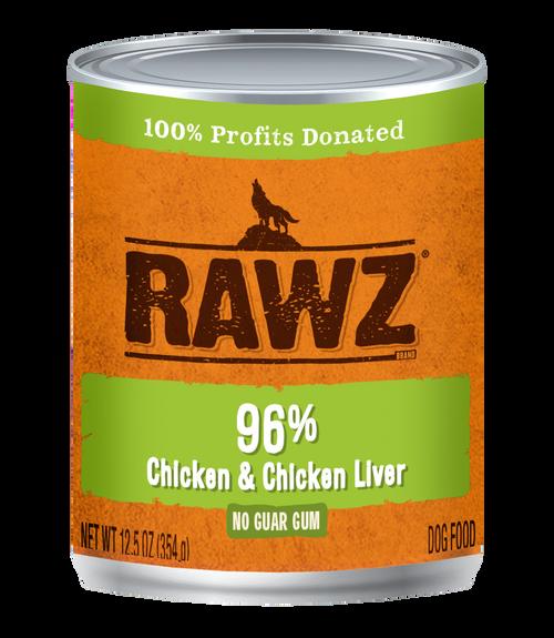 Rawz 96% Chicken & Chicken Liver