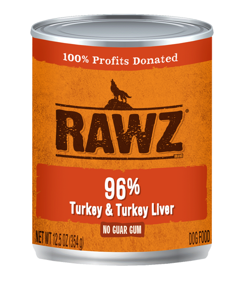 Rawz 96% Turkey & Turkey  Liver