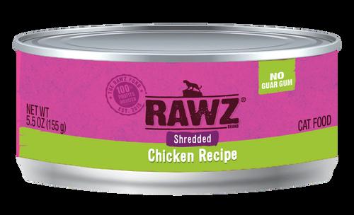 Rawz Cat Shredded Chicken 5.5 oz