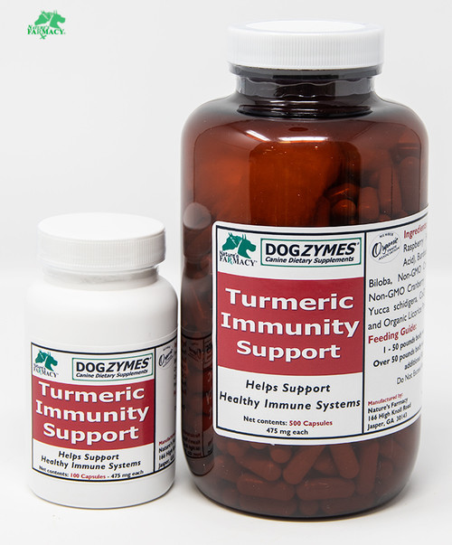 DogZymes Turmeric Immunity Support (Formerly DogZymes Cancer Support)