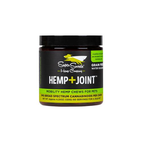Super Snouts Hemp + Joint Chews - Mobility Full Spectrum