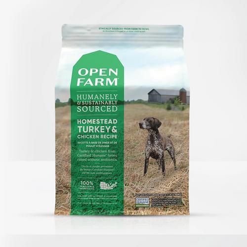 Open Farm Homestead Turkey & Chicken