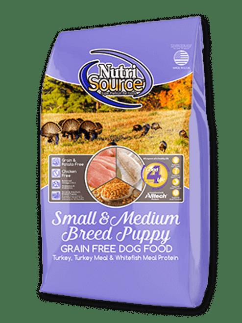 NutriSource Puppy Small & Medium Breed Grain Free
