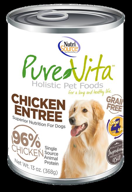 NutriSource PureVita Chicken Entree 13 oz