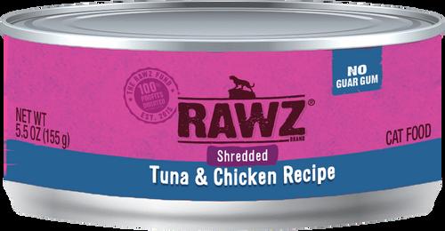 Rawz Cat Shredded Tuna & Chicken 5.5 oz