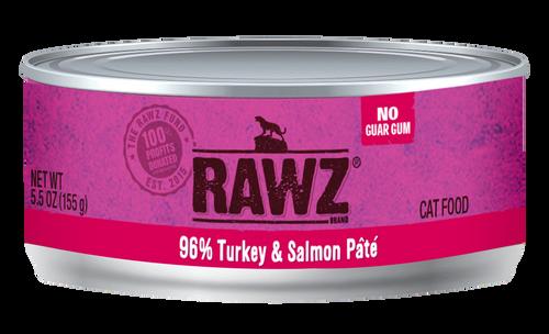 Rawz Cat Turkey & Salmon 5.5 oz