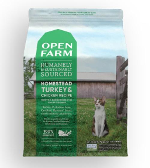 Homestead Turkey & Chicken Dry Cat Food 4lb