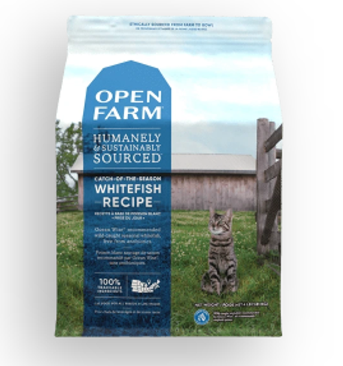 Catch-of-the-Season Whitefish Dry Cat Food 4lb