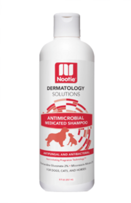 Antimicrobial Medicated Shampoo 8 oz