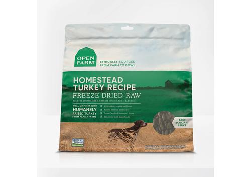 Homestead Turkey Freeze Dried Raw Dog Food 13oz