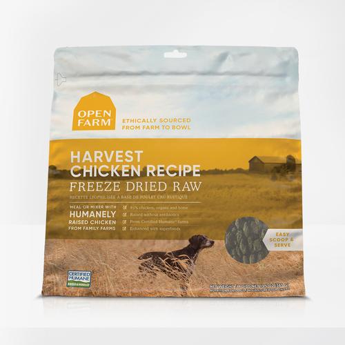 Harvest Chicken Freeze Dried Raw Dog Food 13oz