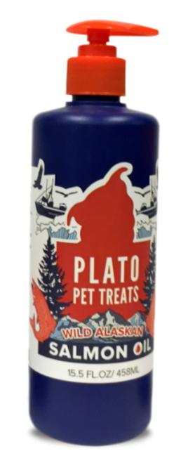 Plato Wild Alaskan Salmon Oil for Dogs & Cats 15.5oz