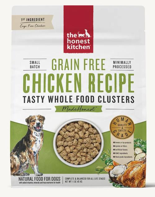 Honest Kitchen Whole Food Clusters Grain Free Chicken