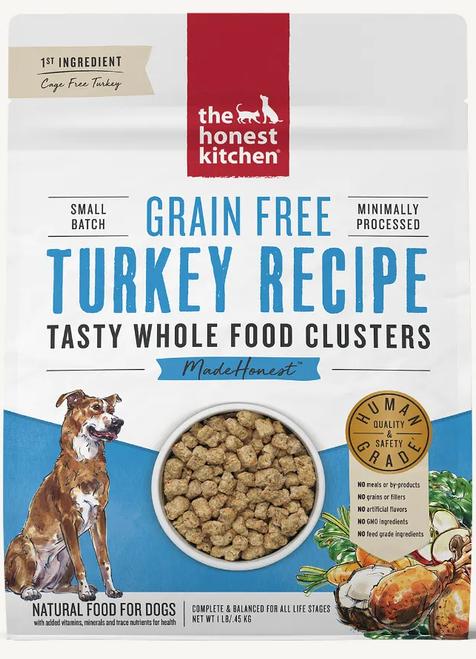 Honest Kitchen Whole Food Clusters Grain Free Turkey