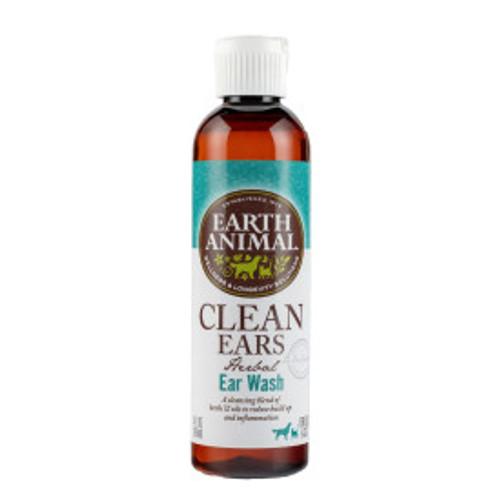 Earth Animal Clean Ears Herbal Ear Wash 4oz