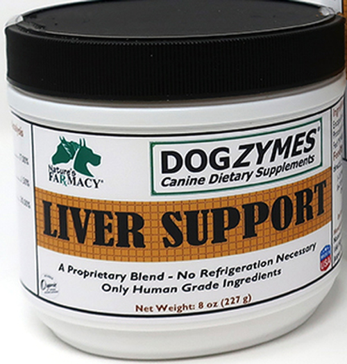 DogZymes Liver Support 8 oz