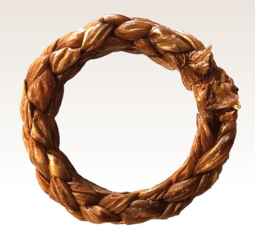 Red Barn Braided Ring