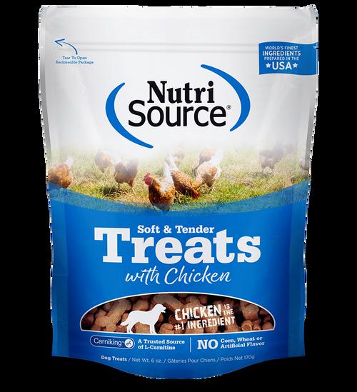 NutriSource Soft & Tender Chicken Treats