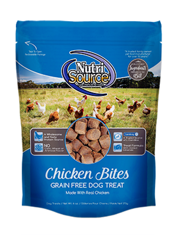 NutriSource Grain Free Treats - Chicken