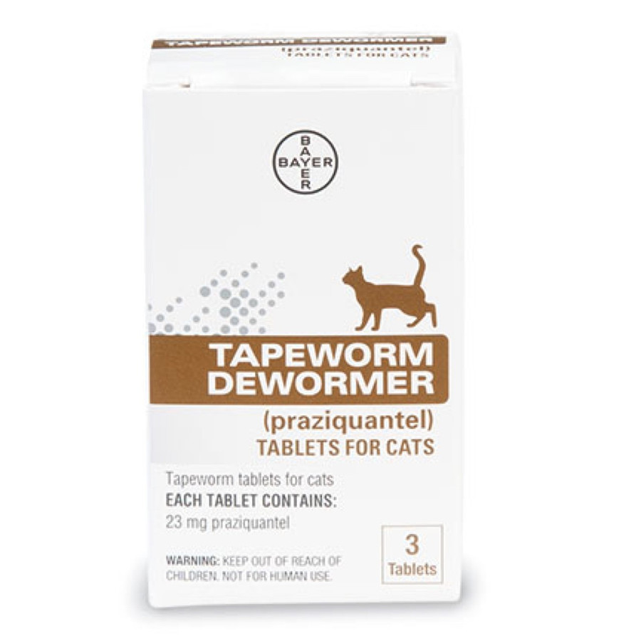 Tapeworm Dewormer Cat