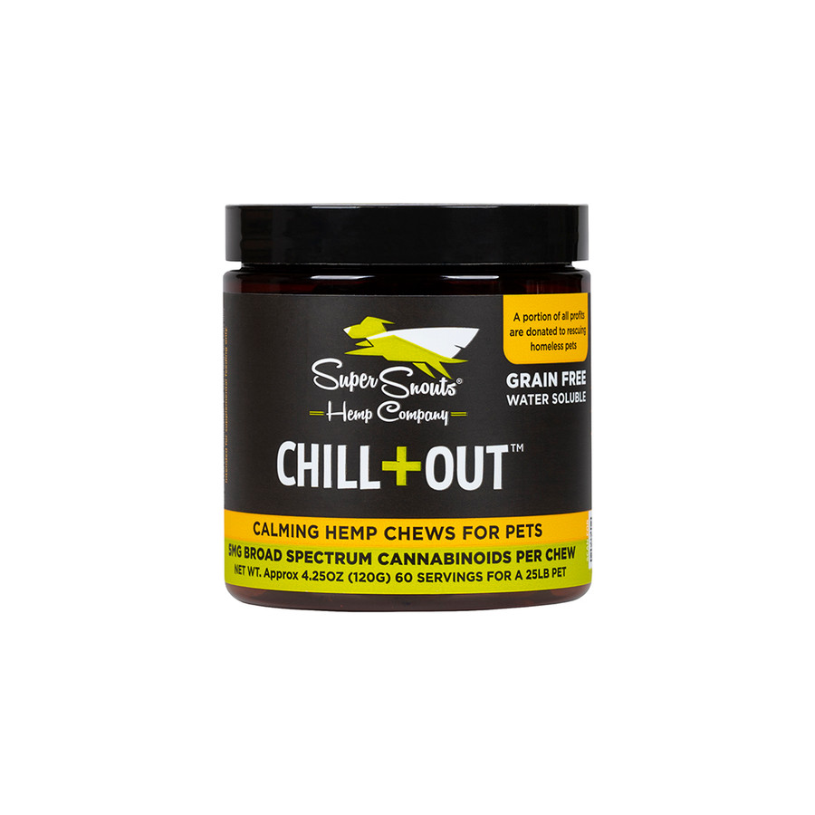 Super Snouts Chill + Out Chews - Calming Full Spectrum
