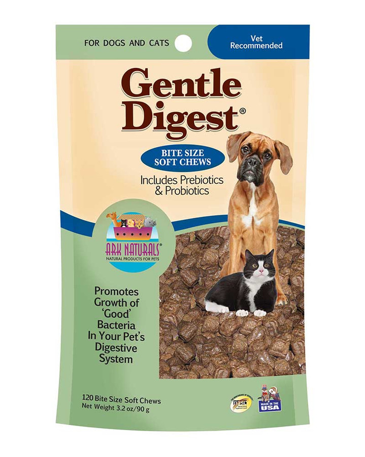 Gentle Digest Soft Chews by Ark Naturals