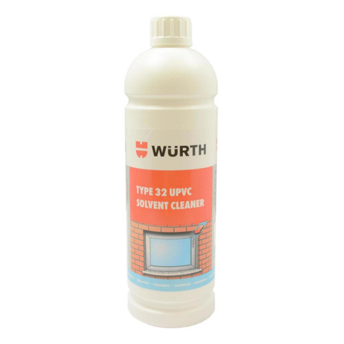 Wurth Type 32 Upvc Cleaner, Solvent Based