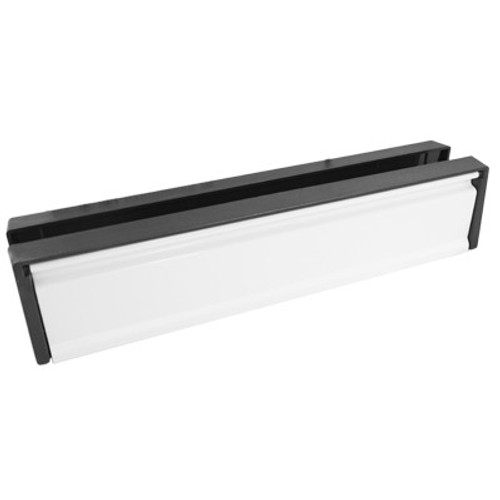 12 Inch White Replacement UPVC Letterbox