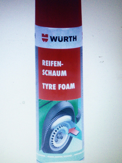 Wurth Tyre Detailing Spray Cleaner