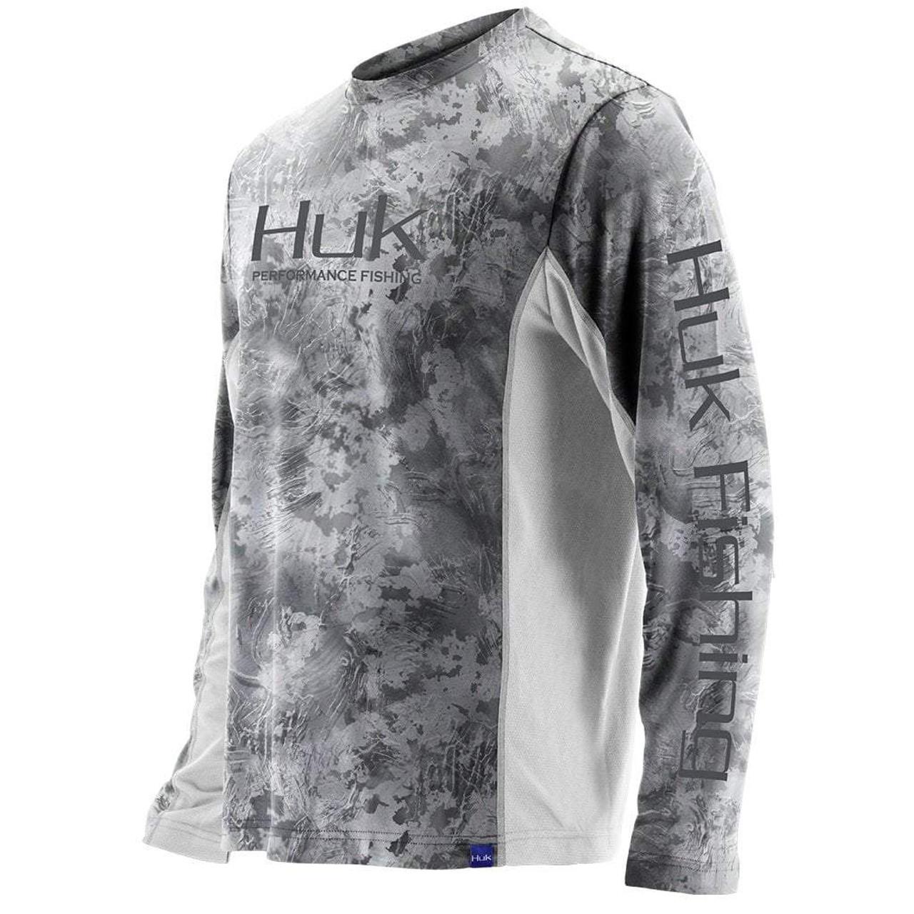 Huk Icon Camo LS