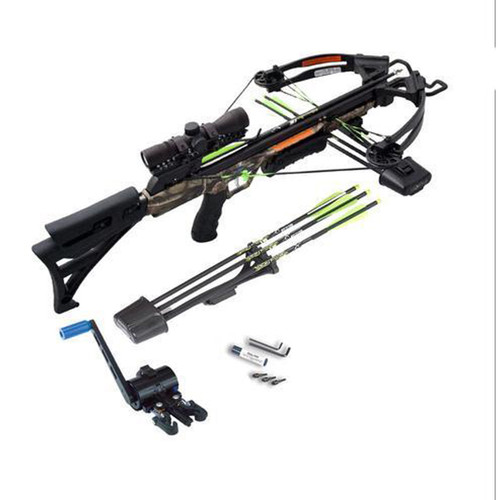 Carbon Express X-Force Blade Pro Disruptive Camo W/ Crank Xbow Kit