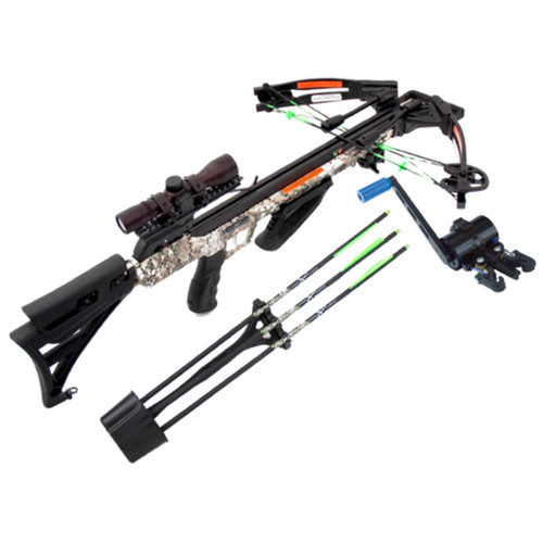Carbon Express X-Force Piledriver 390 Badlands Camo W/ Crank Xbow Kit