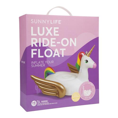 SunnyLife Ride On Float Unicorn
