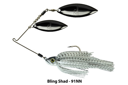 Picasso Inviz Wire Double WIllow Spinner Bait