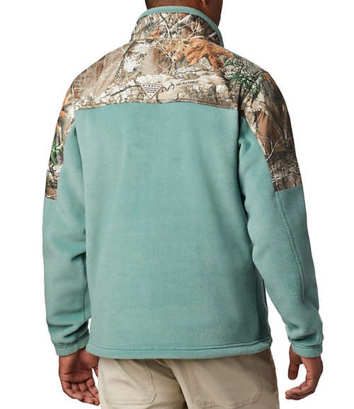 Columbia PHG Fleece Overlay 1/4 Zip