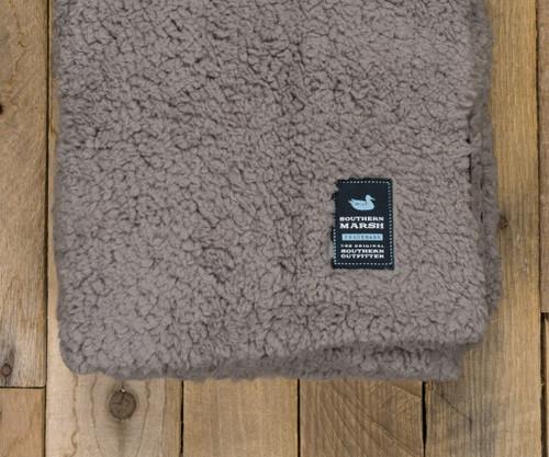 Southern Marsh Watson Fluffy Pile & Tartan Blanket