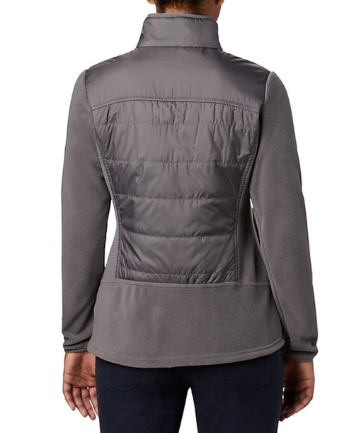 Columbia Women's Basin Butte Fleece Ful-City Grey
