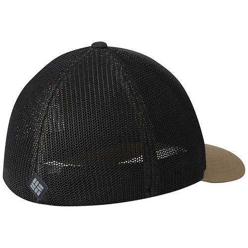 Columbia Mesh Tree Flag Ball Cap Shark