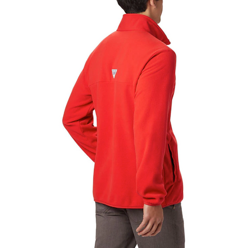 Columbia Mens Harborside II Fleece PO Red Spark