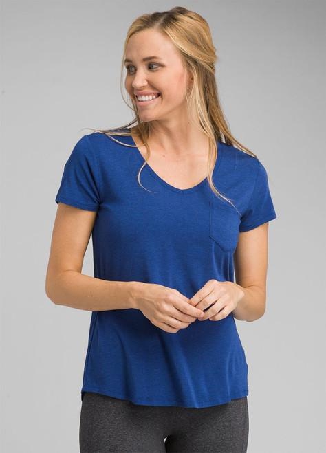 prAna Foundation Short Sleeve V-Neck Top