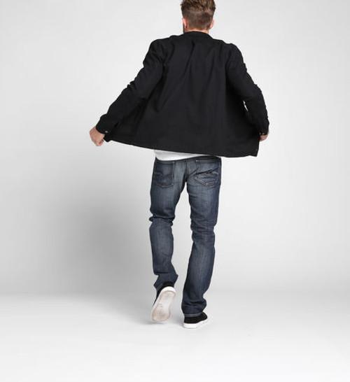 Silver Jeans Allan Classic Fit Slim Jeans Indigo