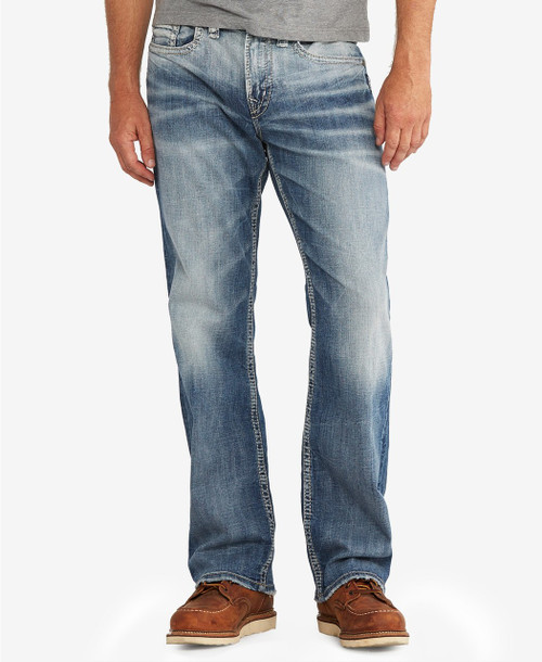 Silver Jeans Craig Easy Fit Bootcut Stretch Indigo