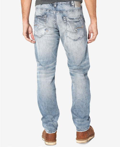 Silver Jeans Eddie Relaxed Tapered Jeans Indigo