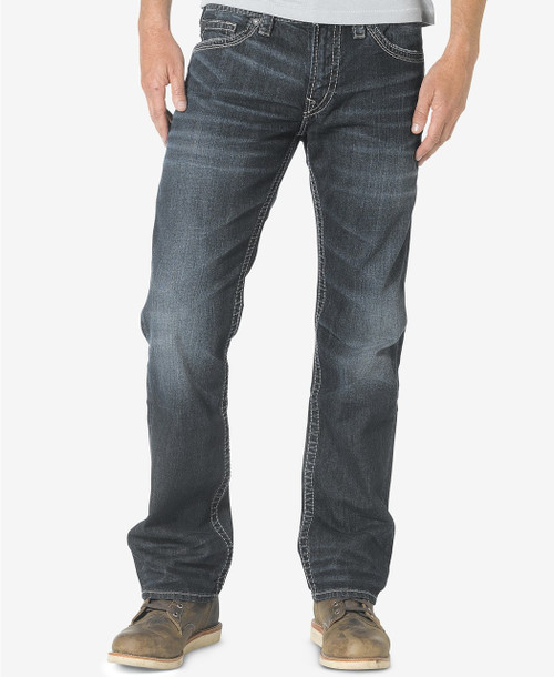 Silver Jeans Nash Classic Fit Straight Jeans Idgo