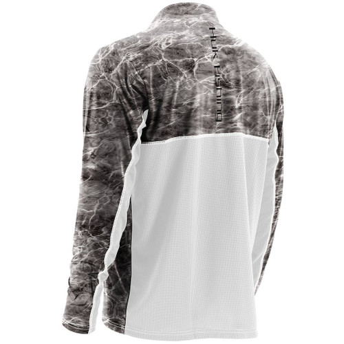 Huk Elements Icon 1/4 Zip Shirt