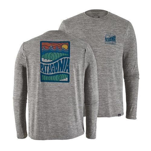 Patagonia M's LS Capilene Cool Daily Graphic Shirt