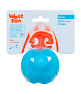 West Paw Jive Ball Small (6 cm) - Aqua Blue