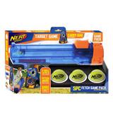 NERF DOG Blaster Target Game Set with 3 Balls