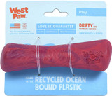 West Paw Seaflex Recycled Plastic Fetch Dog Toy - Drifty Small - Hibiscus